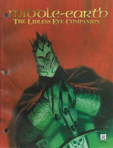 MECCG Middle Earth CCG - The Lidless Eye Companion Guide - Brand NEW !!!!