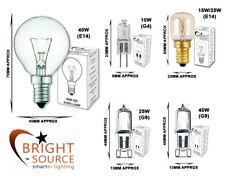 Oven Bulb Cooker Appliance Light Bulb 15W 25W 40W 240V E14 G9 G4 Bright Source