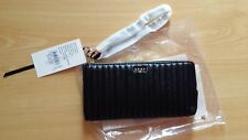 BRAND NEW DKNY Quilting Wristlet Clutch Wallet in Black, RRP$159