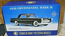 Franklin Mint 1956 Lincoln Continental Mark Ii Comes With Box And Dispaly Case