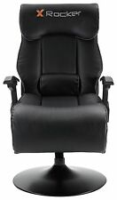 X-Rocker Elite Pro PS4 Xbox One 2.1 Audio Faux Leather Gaming Chair TECH10.