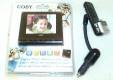 RARE COBY DP356 DIGITAL PHOTO / MP3 PLAYER/ CLOCK / CALENDER ALBUM AND GIFT!