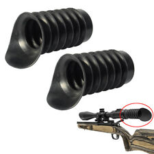 2X 40mm Hunting Soft Rubber Ocular Eye Protector Cover Extender for Rifle Scope