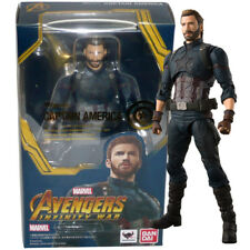 Bandai Tamashii S.H.Figuarts Marvel Avengers Infinity War Captain America Figure