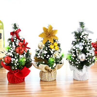 Xmas Tree DIY creative Merry Christmas Tree Bedroom Desk Decor Gift Office Q