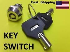 KEY Switch ---- On & Off ---- AC - DC volts ---- small hidden switch barrel keys