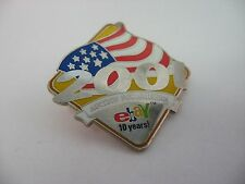 2001 Ebay Auction for America 10 Years Celebration Pin