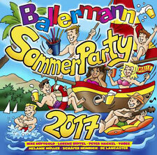Various Artists : Ballermann Sommerparty 2017 CD 2 discs (2017) ***NEW***