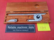 Usa Made Starrett Vernier Protractor C359 Machinist Toolst307