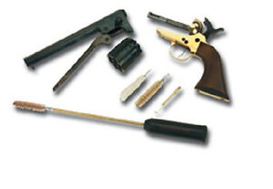 Traditions Pocket Cleaning Kit for 9mm .38 .357 Mag Rod, Jag and Brushes A3862