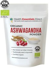 Organic Ashwagandha Powder (Stress Relief, Anxiety, Immune System) Choose Size