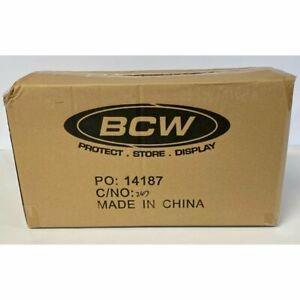 SEALED CASE - BCW 3x4 Top Loaders Standard Size (40 Packs, 1000 Top Loaders)
