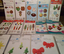 Lot of 14 Wilton & Make 'N Mold Chocolate Candy Molds, All New