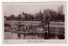 LONDON, LAMBETH PALACE, BARGES, 1910, RP