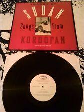 ABDEL GADIR SALIM - SOUNDS OF SUDAN VOL.1 SONGS FROM KORDOFAN LP EX!!! WCB002