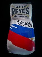 MANNY PACQUIAO CLETO REYES PHILIPPINE FLAG CUSTOM BOXING GLOVE UN SIGNED  RARE!