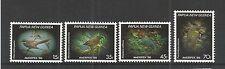 """& Papua Nuova Guinea 1986 AMERIPEX"""" 86"""" PICCOLI VOLATILI SG, 525-528 UM/M NH LOTTO 2954a"""