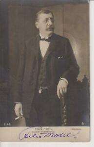 1905-FELIX JOSEF VON MOTTL-AUSTRIAN CONDUCTOR &COMPOSER-ORIG.AUTOGRAPH W/H PHOTO