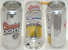 3 RIVERS STADIUM PITTSBURGH STEELERS-PIRATES 1970-2001 NFL-MLB COORS BEER CAN PA