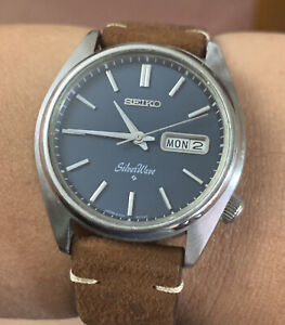1977 Seiko Silver Wave Automatic 38mm Vintage Watch 6306-8000