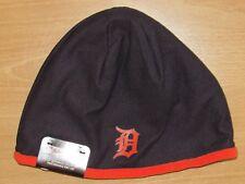 Authentic Detroit Tigers New Era Tech Knit Winter Hat Cap Men's - Fleece Lined