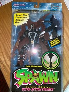 1995 SPAWN II Deluxe Edition # 10121 McFarlane Toys
