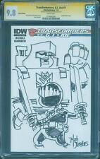 G.I.Joe vs Transformers 1 CGC 9.8 SS Mat Nastos Phineas Ferb Snake Eyes sketch