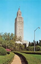 Postcard State Capitol Baton Rouge Louisiana