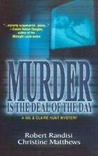 Murder Is The Deal Of The Day by Robert Randisi Christine Matthews Paperback