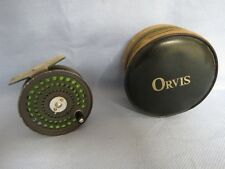 ORVIS CFO 111 TROUT REEL IN ORVIS POUCH  MADE IN ENGLAND