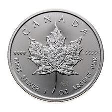 2020 CANADA $5 1oz 9999 Pure SILVER MAPLE LEAF Bullion Coin w/ Maple Privy Mark