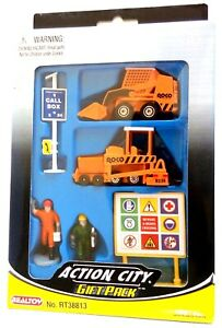 Toy Construction Vehicles, Action City Diecast Metal Gift Pack