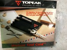 Topeak Watson Tool Card Credit Size 14 Function Bicycle Camping Multi Tool Style
