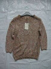 Womens Marks And Spencer Indigo Knitwear Coral Mix Jumper Size 8 BNWT