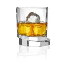 JoyJolt Octagon Aqua Vitae 10.5 oz Crystal Whiskey Glass, Set of two Off Base