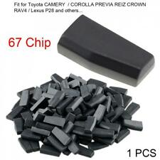 Blank 4D67 ID67 Car Key Transponder Chip Fit for Toyota CAMERY COROLLA PREVIA