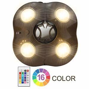 HONWELL LED Parasol Umbrella Lights Cantilever Parasol Lights - 5 Level Dimmable