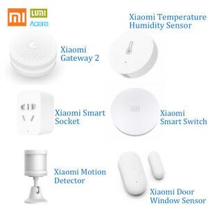 Aqara Gateway Temperature Humidity Motion Door Sensor Socket Switch TS