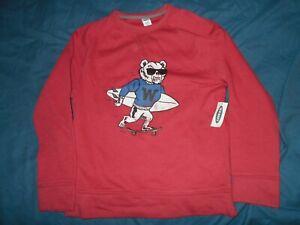 Wisconsin Badgers Boys Size 8 Strechy Sweatshirt