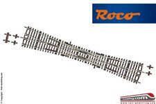 ROCO 42496 DKW10 - H0 1:87 - Switch intersection double 345 mm