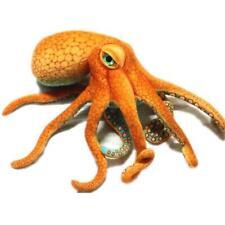 Realistic Orange Octopus Stuffed Animal (22 Inch) Plush Toy/Super Soft Toy