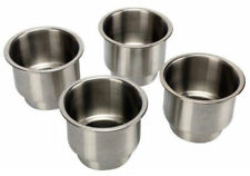 4PCS  Stainless Steel Cup Drink Holder Marine Boat Car Truck Camper RV