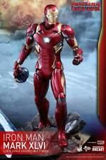 Hot Toys Iron Man Mark XLV MK 46 DIE CAST MMS353 D16 Civil War CA3 New/Sealed!