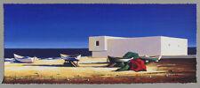 Igor Medvedev FUENGIROLA SPAIN 2005 serigraph AP 78/100 Artist Proof