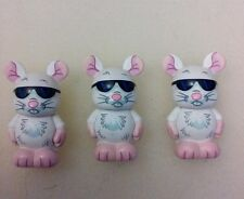 "DISNEY VINYLMATION Park - 3"" Set 1 Nursery Rhymes Three Blind Mice Jrs"