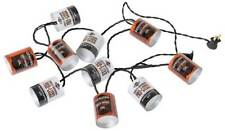 Harley-Davidson Oil Can String Party Lights - 10 ft. Orange & White HDL-10018