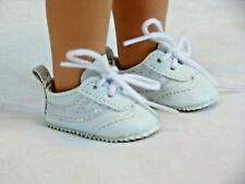 """White Tennis Shoes Fits 14.5"""" Wellie Wisher American Girl Clothes Shoes"""