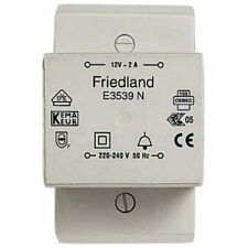 Friedland E3539N Door Bell & Chime Transformer 12 Volt AC 2 Amp