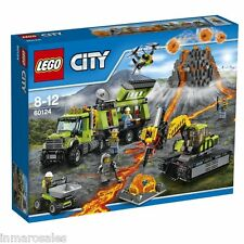 Lego 60124 Volcán: Base de exploración