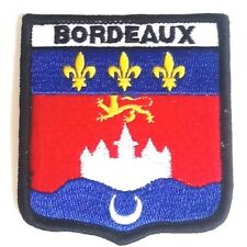Bordeaux Embroidered Patch